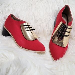 """Red Kiss Girl Shoes """"Magnetic"""""""